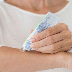 Ефективні мазі і крему для лікування екземи на руках