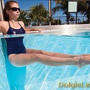 Ефективні вправи в басейні гарні для схуднення