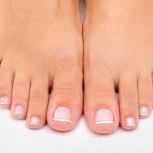 Як видалити грибок на нозі