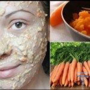 Морквяна маска від прищів