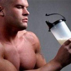 Шкода протеїнових коктейлів